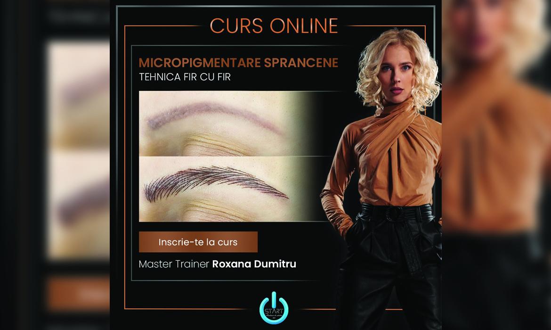 Tehnica Fir cu Fir din aparat electric (HairStroke) by Roxana Dumitru